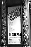 Theatre Marquee for the Opening Night Performance Curtain Call for the Manhattan Theatre Club's 'Murder Ballad' at MTC in New York City on 11/15/2012