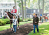 Smash and Grab before The Nick Shuk Memorial Stakes at Delaware Park on 8/29/2013