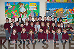 Happy to be in school are the new students of St Bridgid's NS Duagh.   Copyright Kerry's Eye 2008