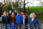 Julia Fealy, Dylan Lyons, Marian O'Connell, Pat Breen, Kathleen Eager, Pat Costello, Mike Slattery Mary Costello, Margaret Breen and Anne Slattery, residents from Gurrane, Tralee, who feel they've been ignored about the dangers of their road in Gurrane, Tralee.