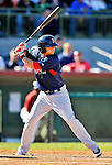11 March 2011: Boston Red Sox infielder Ryan Khoury in action during a Spring Training game against the Houston Astros at Osceola County Stadium in Kissimmee, Florida. The Red Sox defeated the Astros 9-3 in Grapefruit League play. Mandatory Credit: Ed Wolfstein Photo