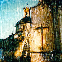 Church in Patzcuaro.<br />