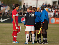 USA U17 vs Turkey U17 at the Nike International Friendlies. Reach 11 Sports Complex in Phoenix, Arizona, Sunday, December 5, 2010. Turkey won 2-0.