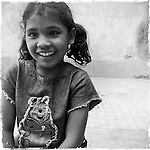Ruksana, 10, World Vision-sponsored child, in Kolkata, India.