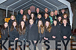 CHOIR: Fr Pat Ahern (centre front) who conducted and written the Lá Fhéile Bréaniann, at Ardfet Cathedral, on Thursday evening with the choir who sang at the mass.