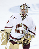 Joe Pearce of Brick, New Jersey won MVP honors in tournaments his past two playing seasons - junior year Denver Cup, freshman year Great Lakes Invitational.  The senior goaltender was drafted 135th overall by the Tampa Bay Lightning in the 2002 NHL Entry Draft. The Eagles of Boston College defeated the Falcons of Bowling Green State University 5-1 on Saturday, October 21, 2006, at Kelley Rink of Conte Forum in Chestnut Hill, Massachusetts.<br />