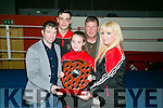 l-r  Paul Griffin, Coach, Kaitlyn Horan, Boxer Of The Year, Jennifer O'Sullivan Coffey, Coach, Anthony Walsh , Coach and John O'Connell, Coach   at the Sliabh Luachra Boxing club Annual awards presentation  in Castleisland on Saturday
