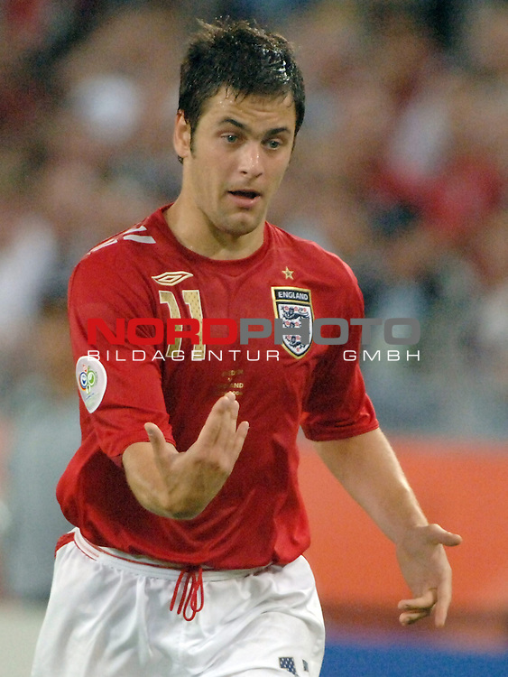 FIFA WM 2006 -  Gruppe B Vorrunde ( Group B )<br /> Play    #35 (20-Jun) - Schweden vs England <br /> <br /> Joe Cole (ENG)<br /> <br /> Foto &copy; nordphoto