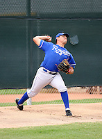 Jacob Rodriguez / Kansas City Royals 2008 Instructional League..Photo by:  Bill Mitchell/Four Seam Images