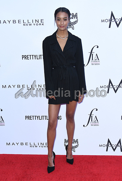 08 April 2018 - Beverly Hills, California - Nala Wayans. The Daily Front Row's 4th Annual Fashion Los Angeles Awards held at The Beverly Hills Hotel. Photo Credit: Birdie Thompson/AdMedia