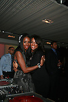 DJ Kiss and Alesha Renee Attend 3rd Annual WEEN Awards Honoring  Estelle, Keri Hilson, Tracy Wilson Mourning, Egypt Sherrod, Danyel Smith and Jennifer Yu Held at  Samsung Experience at Time Warner Center, NY   11/10/11