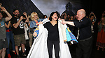 """Jenifer Foote, Jill Abramovitz and Daviid Westphal during the Broadway Opening Night Actors' Equity Legacy Robe Ceremony honoring Jill Abramovitz for """"Beetlejuice"""" at The Wintergarden on April 25, 2019  in New York City."""