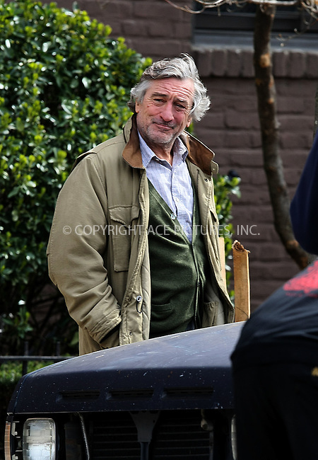 WWW.ACEPIXS.COM . . . . .  ....March 30 2011, New York City....Actor Robert De Niro on the Queens set of the new movie 'Another Bullshit Night in Suck City' on March 30 2011 in New York City....Please byline: PHILIP VAUGHAN - ACE PICTURES.... *** ***..Ace Pictures, Inc:  ..Philip Vaughan (212) 243-8787 or (646) 679 0430..e-mail: info@acepixs.com..web: http://www.acepixs.com