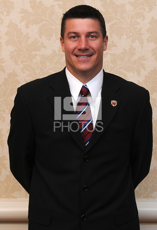 DC United Assistant Coach Mark Simpson at the Sixth Annual DC United Kickoff Luncheon at the Capitol Hilton in Washington D.C. on March 25, 2008.