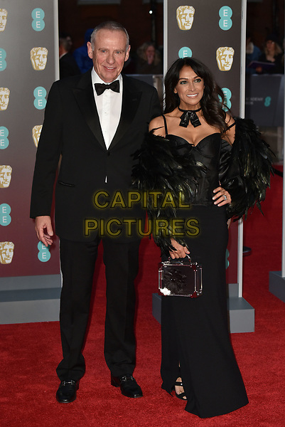 20b6b82da0ad Carl Michaelson and Jackie St Clair br    Arrivals at The EE British Academy