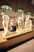the wonderful Museum de Orsay in Paris France