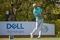 Dustin Johnson (USA) watches his tee shot on 10 during day 1 of the WGC Dell Match Play, at the Austin Country Club, Austin, Texas, USA. 3/27/2019.<br /> Picture: Golffile | Ken Murray<br /> <br /> <br /> All photo usage must carry mandatory copyright credit (© Golffile | Ken Murray)