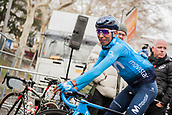25th March 2018, Barcelona, Spain; Volta a Catalunya 2018 Cycling, Stage 7; Nairo Quintana of Movistar Team at the race start location