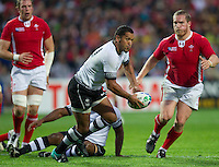 Rugby World Cup Hamilton Wales v Fiji  Pool D 02/10/2011.Nicky Little  (Fiji).Photo Mike Frey Fotosports International/AMN