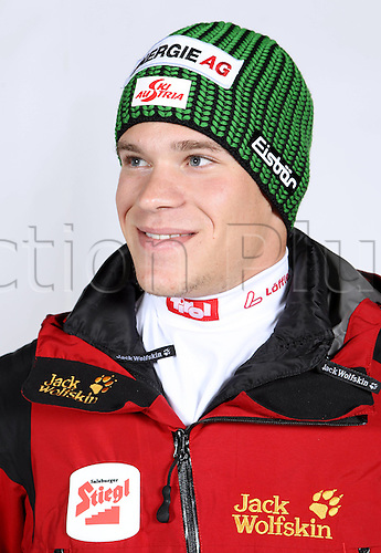 16.10.2010  Winter sports OSV Einkleidung Innsbruck Austria. Ski Nordic Nordic Combination OSV Austrian Ski Federation. Picture shows Dominic Dier AUT