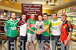 The County Senior Hurling and Football championship Drew held at Garvey's on Monday pictured l-r  Barry O'Grady, Ballyduff,  Anthony Feeley, Causeway, Shane Nolan, Crotta, Darren Delaney, Ardfert, Martin Stackpoole, Lixnaw, Seanie Murnane, Kilmoyley, Shane Dunne, Ballyheigue,