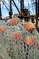 Commercial fishing boat, Menemsha, Chilmark, Martha's Vineyard, Massachusetts, USA