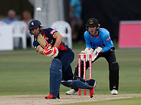Heino Kuhn bats for Kent during the Vitality Blast T20 game between Kent Spitfires and Sussex Sharks at the St Lawrence Ground, Canterbury, on Fri July 27, 2018