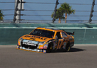 Nov. 14, 2008; Homestead, FL, USA; NASCAR Sprint Cup Series driver Matt Kenseth during qualifying for the Ford 400 at Homestead Miami Speedway. Mandatory Credit: Mark J. Rebilas-