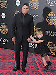 "Willow Sage and Carey Hart attends The Premiere Of Disney's ""Alice Through The Looking Glass"" held at The El Capitan Theatre  in Hollywood, California on May 23,2016                                                                               © 2016 Hollywood Press Agency"