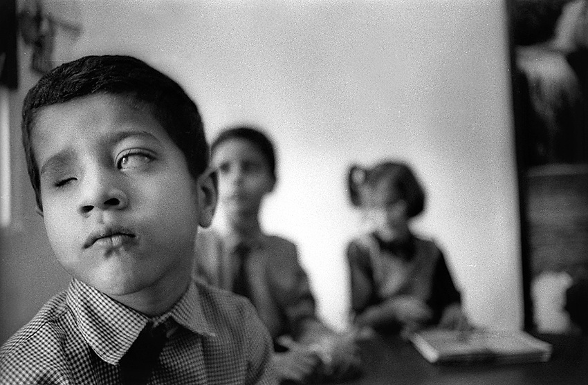 School for the Disabled, Karachi, Pakistan, October 13, 1996. (photo by Pico van Houtryve)
