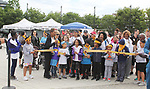 Ribbon Cutting - Another World's and singer Rhonda Ross and son Raif - she sang the National Anthem  - Hearts of Gold 7th Annual Run/Walk for Kids with proceeds from this fun family event will change the futures of homeless mothers and their children on June 3, 2017 at Pier 84 Hudson Parks, New York City, New York. It supports Hearts of Gold Annual Back to School Programs. (Photo by Sue Coflin/Max Photos)