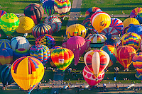 Albuquerque Int'l Balloon FIesta-Ground views
