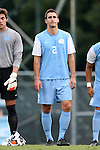 15 August 2014: North Carolina's Jonathan Campbell. The University of North Carolina Tar Heels hosted the Gardner-Webb University Bulldogs at Fetzer Field in Chapel Hill, NC in a 2014 NCAA Division I Men's Soccer preseason match. North Carolina won the exhibition 7-0.