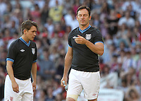 Manchester - Jason Isaacs at Soccer Aid 2012 in support of UNICEF UK held at Old Trafford stadium, Manchester, England - May 27th 2012..Photo by Kenny Disney.