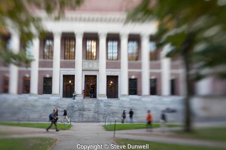 Harvard Univ., Cambridge, MA lensbaby
