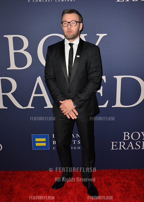 LOS ANGELES, CA. October 29, 2018: Joel Edgerton at the Los Angeles premiere for &quot;Boy Erased&quot; at the Directors Guild of America.<br /> Picture: Paul Smith/Featureflash