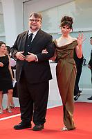 Sally Hawkins, Guillermo del Toro at the Shape Of Water premiere, 74th Venice Film Festival in Italy on 31 August 2017.<br /> <br /> Photo: Kristina Afanasyeva/Featureflash/SilverHub<br /> 0208 004 5359<br /> sales@silverhubmedia.com