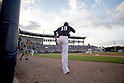 Masahiro Tanaka (Yankees),<br /> MARCH 12, 2015 - MLB :<br /> Pitcher Masahiro Tanaka of the New York Yankees takes the mound during a spring training baseball game against the Atlanta Braves at George M. Steinbrenner Field in Tampa, Florida, United States. (Photo by Thomas Anderson/AFLO) (JAPANESE NEWSPAPER OUT)