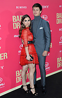 Ansel Elgort &amp; Violetta Komyshan at the Los Angeles premiere for &quot;Baby Driver&quot; at the Ace Hotel Downtown. <br /> Los Angeles, USA 14 June  2017<br /> Picture: Paul Smith/Featureflash/SilverHub 0208 004 5359 sales@silverhubmedia.com