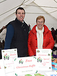 David and Sarah Stokes pictured at Dunleer Christmas fair. Photo:Colin Bell/pressphotos.ie