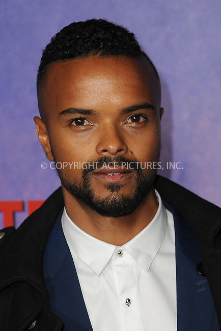 www.acepixs.com<br /> March 7, 2018  New York City<br /> <br /> Eka Darville attending attending Marvel's 'Jessica Jones' season 2 TV show premiere on March 7, 2018 in New York City.<br /> <br /> Credit: Kristin Callahan/ACE Pictures<br /> <br /> <br /> Tel: 646 769 0430<br /> Email: info@acepixs.com
