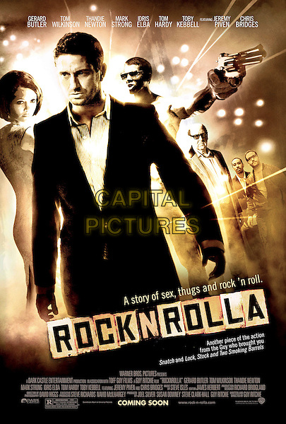 POSTER ART.in RocknRolla.*Filmstill - Editorial Use Only*.CAP/FB.Supplied by Capital Pictures.