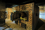Piece w krematorium I, Auschwitz<br /> Stoves in the crematory I, Auschwitz, Poland