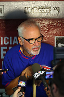 Joe Maddon, manager - 2016 Chicago Cubs (Bill Mitchell)