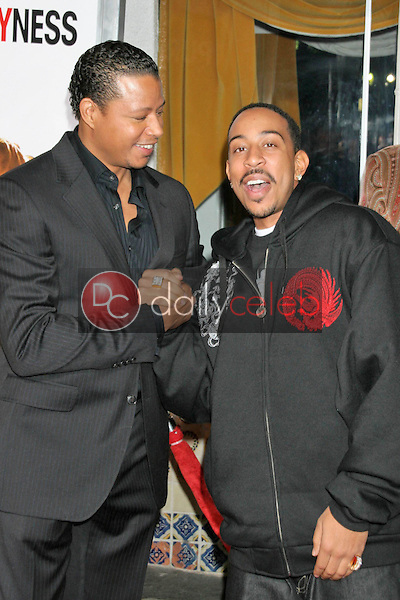 Terrence Howard and Ludacris<br />at the premiere of &quot;The Pursuit of Happyness&quot;. Mann Village Theatre, Westwood, CA. 12-07-06<br />Dave Edwards/DailyCeleb.com 818-249-4998