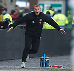 Neil Lennon reacts on the sidelines