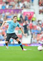 July 26, 2012..Uruguay's Gaston Ramirez (10). UAE vs Uruguay Football match during 2012 Olympic Games at Old Trafford in Manchester, England. Uruguay defeat United Arab Emirates 2-1...
