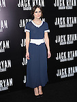 Keira Knightley attends TheParamount Pictures' L.A. Premiere of Jack Ryan : Shadow Recruit held at The Chinese Theatre in Hollywood, California on January 15,2014                                                                               © 2014 Hollywood Press Agency