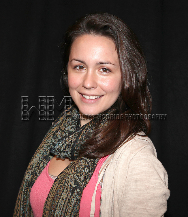 Rachel Spencer Hewitt attending the Meet & Greet for the New York Theatre Workshop production of 'A Civil War Christmas' at their rehearsal studios on October 16, 2012 in New York City.