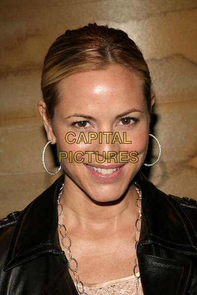 """MARIA BELLO.Opening Celebration of Gregory Colbert's """"Ashes and Snow"""" Exhibition - Arrivals held at the Ashes and Snow Nomadic Museum, Santa Monica, California..January 12th, 2006.Photo: Zach Lipp/AdMedia/Capital Pictures.Ref: ZL/ADM.headshot portrait hoop earrings .www.capitalpictures.com.sales@capitalpictures.com.© Capital Pictures."""